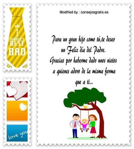 descargar mensajes bonitos para el dia del Padre,frases bonitas para el dia del Padre