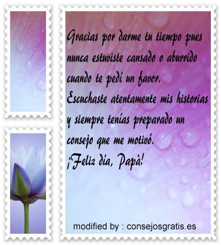 bellas palabras para decir felìz dìa del Padre,saludos para el dìa del Padre con imàgenes