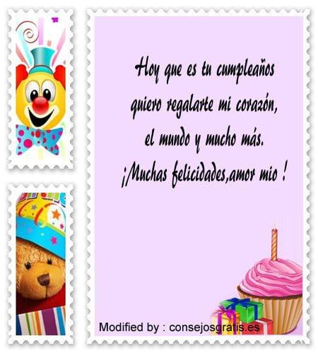 tarjetas con imàgenes de cumpleaños para mi novia,poemas de cumpleaños para mi novia,versos de cumpleaños para mi novia