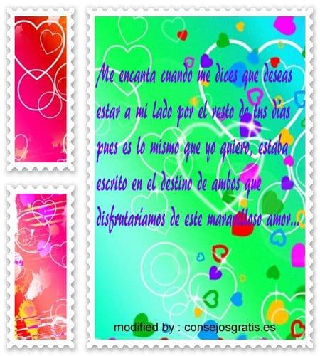 bonitos mensajes de amor para novios,tarjetas romànticas para enamorados