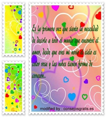 mensajes tiernos de amor con imàgenes para tu novia,tarjetas romànticas para enviar a tu novio
