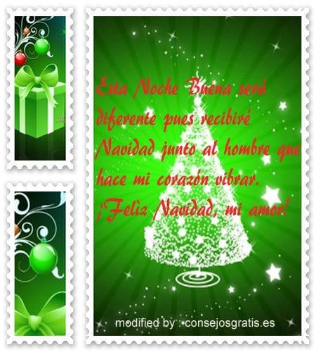 descargar gratis pensamientos con imàgenes de Navidad para mi pareja que esta lejos, tarjetas con saludos de Navidad para mi novio adorado