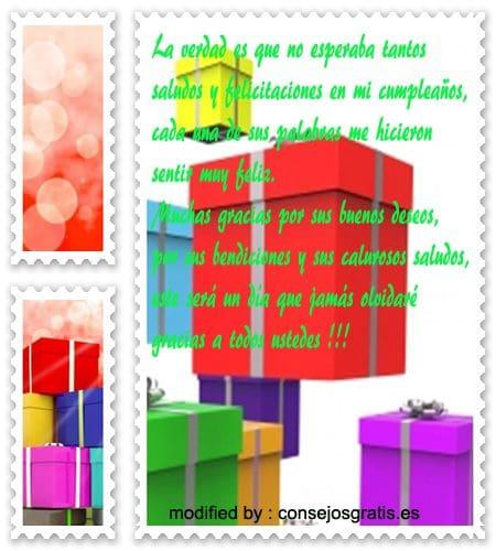 tarjetas de agradecimiento por saludos de cumpleaños,versos de agradecimiento por saludos de cumpleaños