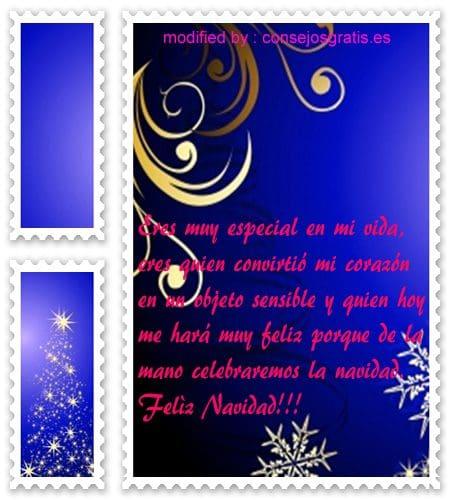 descargar gratis pensamientos con imàgenes de navidad para mi pareja, tarjetas con saludos de navidad para mi novia querida