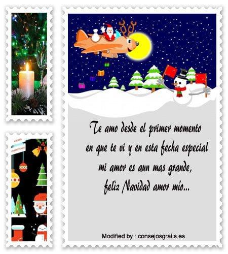 frases bonitas para enviar en Navidad a mi enamorado,carta para enviar en Navidad a mi novio
