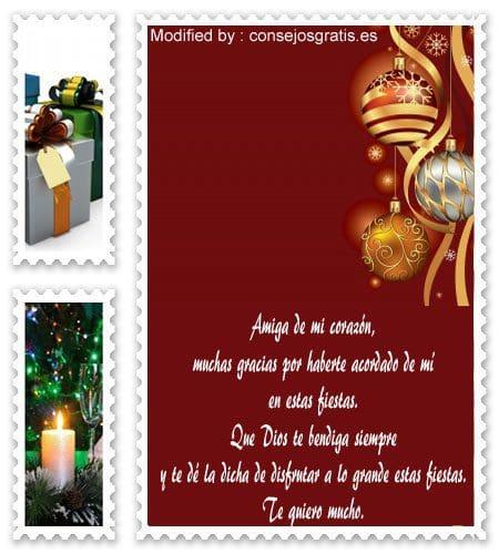 mensajes de agradecimiento para enviar en Navidad, poemas de agradecimiento para enviar en Navidad