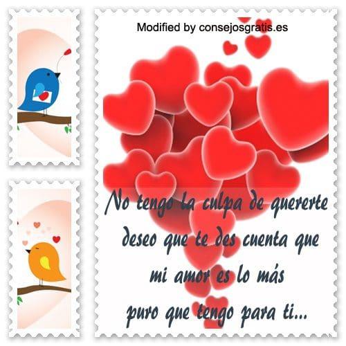 frases y mensajes románticos,mensajes de amor bonitos para enviar