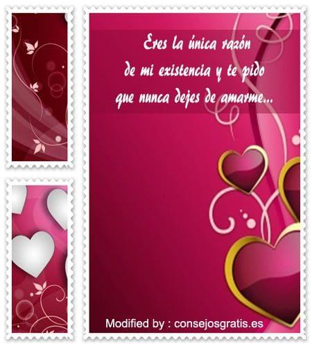 tarjetas con dedicatorias de amor para mi novia, ,tarjetas con poemas de amor para mi enamorada