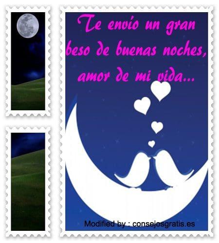 palabras de buenas noches para mi amor,saludos de buenas noches para mi amor