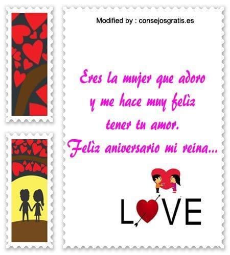 frases bonitas de aniversario de novios,frases de aniversario de novios para compartir