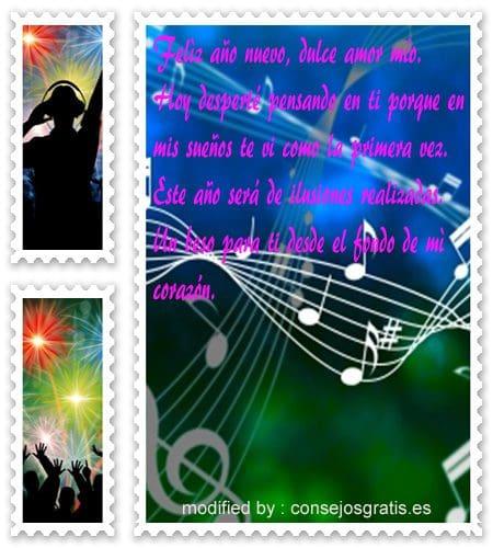 dulces textos con imàgenes de feliz año para mi amado,enviar nuevos versos con imàgenes de feliz año para mi amor