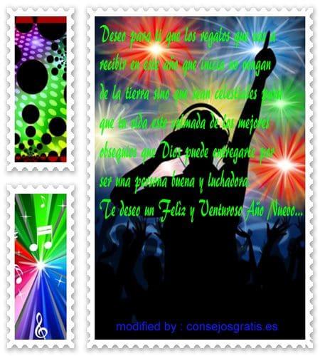 tarjetas con saludos y buenos deseos de felìz año nuevo, imàgenes con versos de reflexiòn por el año nuevo