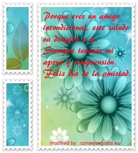 mensajes amistad34,bellas tarjetas con textos bonitos por el dìa de la amistad para enviar gratis