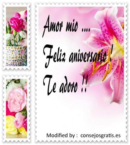 enviar tarjetas de amor por aniversario a mi enamorada