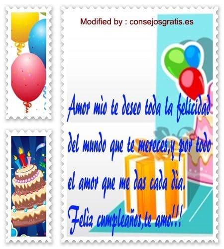 tarejtas con poemas de cumpleaños para mi pareja,felicitaciones y mensajes de cumpleaños para mi enamorado que esta lejos