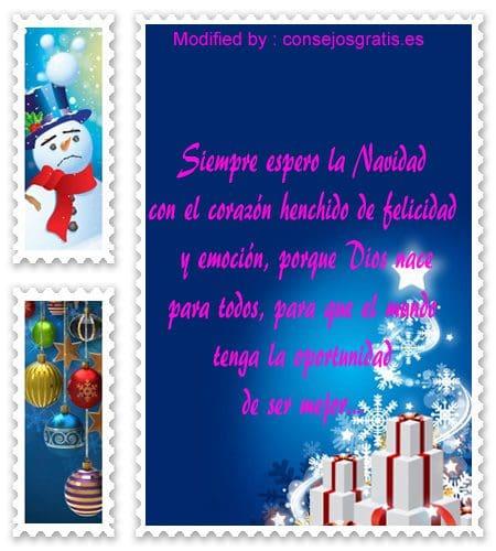 Mensajes de Navidad bonitos,bellos mensajes de Navidad
