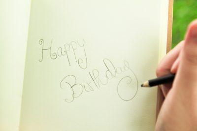 Cumpleaños para un novio