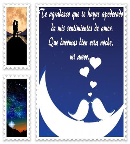 citas de buenas noches, Frases de buenas noches