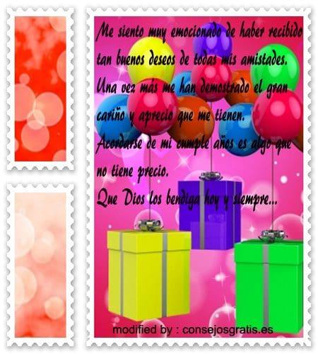 palabras con imàgenes de agradecimiento por felicitaciones de cumpleaños,descargar frases bonitas de agradecimiento por mensajes de cumpleaños
