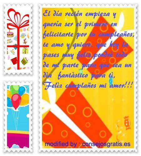 romànticos mensajes con imàgenes de felìz cumpleaños para mi enamorada, palabras con imàgenes romànticas de felìz cumpleaños para mi pareja