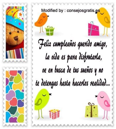 descargar bonitas frases de cumpleaños para un amigo, nuevas fases de cumpleaños para un amigo