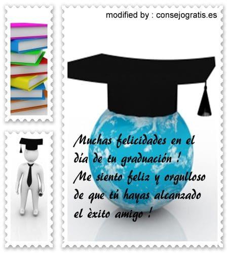 Mensaje De Felicitaciones Por Graduacion