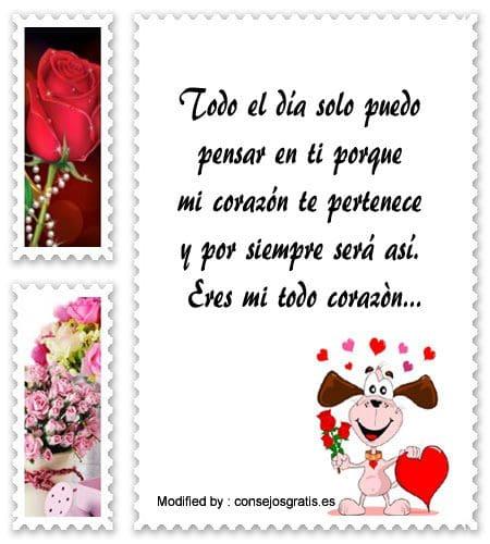 buscar palabras de amor para mi enamorada,originales mensajes de romànticos para mi novia con imágenes gratis