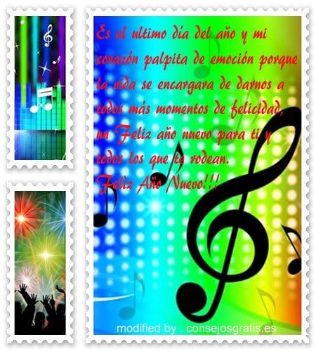 tarjetas originales para desear un pròspero año nuevo, descargar gratis dedicatorias con imàgenes de venturoso año nuevo