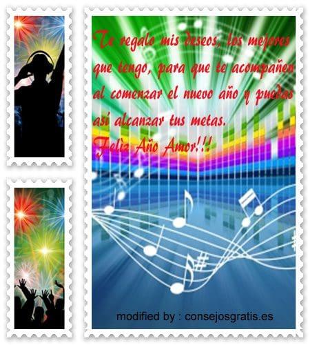 tarjetas con saludos y buenos deseos de felìz año nuevo,  imàgenes con versos de felìz año nuevo