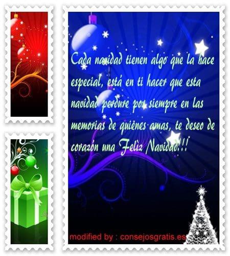 palabras con imàgenes de feliz Navidad para tarjetas, originales pensamientos con imàgenes de feliz Navidad para enviar