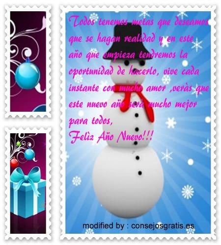 imagenes con textos bonitos de fin de año, enviar lindos deseos de felìz año nuevo