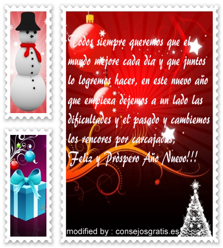 imagenes con lindas dedicatorias de fin de año,tarjetas con mensajes de venturoso año nuevo