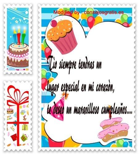palabras y mensajes de cumpleaños para mi tìo,originales y bonitos textos de cumpleaños para un tìo que esta lejos