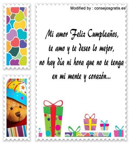 postales romànticas de feliz cumpleaños para mi enamorado, tarjetas romànticas de feliz cumpleaños para mi novio