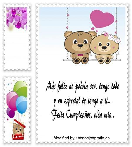 sms de cumpleaños para mi novio,textos de feliz cumpleaños