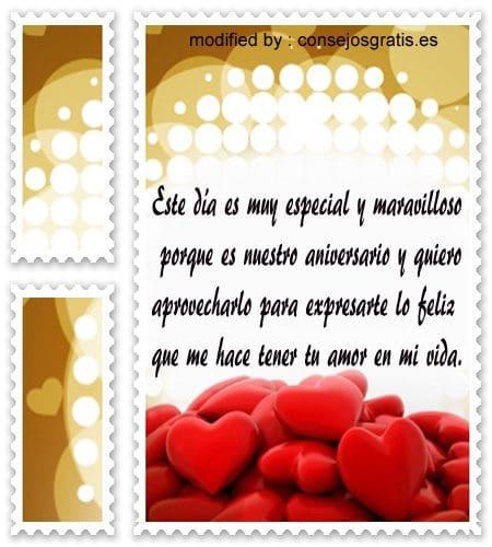 mensajes de amor20, bellas tarjetas con imàgenes de aniversario para dedìcarle a tu novia