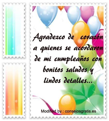 citas para agradecer saludos de cumpleaños, frases para agradecer saludos de cumpleaños