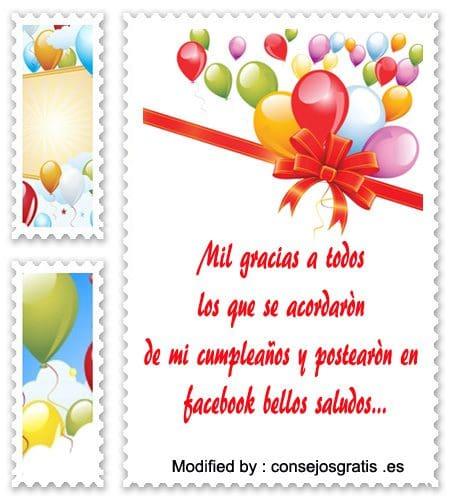 pensamientos de agradecimiento de cumpleaños,tarjetas con imàgenes de agradecimiento de cumpleaños