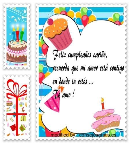 » Bonitas Frases De Cumpleaños Para Mi Novio