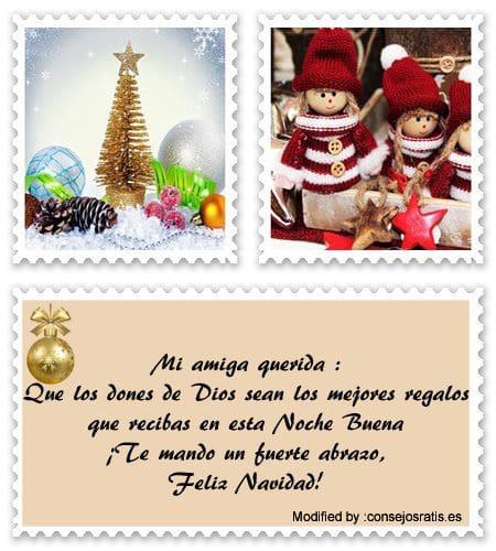 Frases De Navidad Para Mi Amiga | Saludos de Feliz Navidad ...