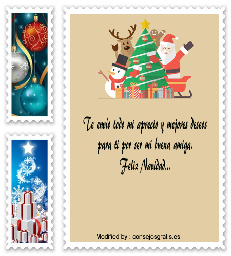 Tarjetas Con Mensajes De Feliz Navidad Para Amigos | Saludos De ...