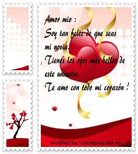 » Bonitos textos de amor para enviar a mi novia | Frases