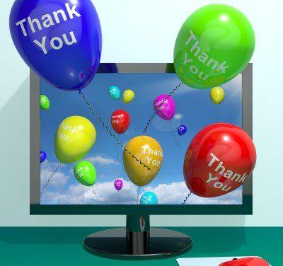 Bellas Frases de agradecimiento por saludos de cumpleaños
