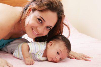 Tiernas frases y mensajes para una Madre primeriza