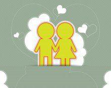 Frases bonitas con imágenes por primer mes de novios