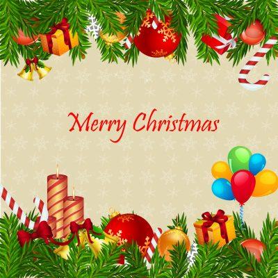 Saludos de Navidad para mi jefe