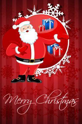 Postear saludos de Navidad y año nuevo para facebook