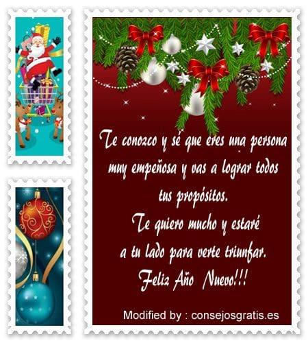 descargar bonitos pensamientos de Año Nuevo, lindas dedicatorias de Año Nuevo