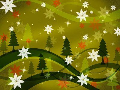 Saludos de Navidad y año nuevo para twitter