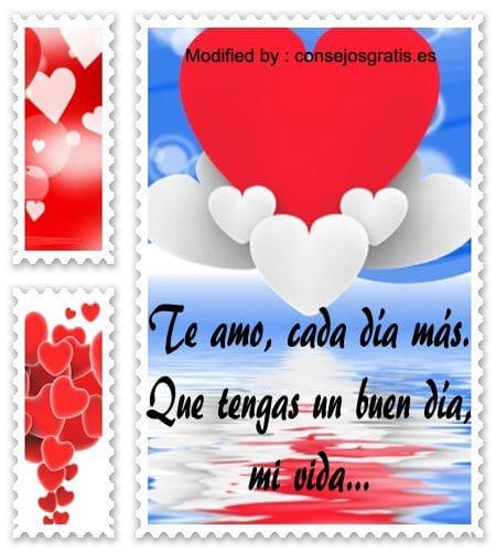 descargar poemas de buenos dias para mi amor,mensajes bonitos de buenos dias para mi amor